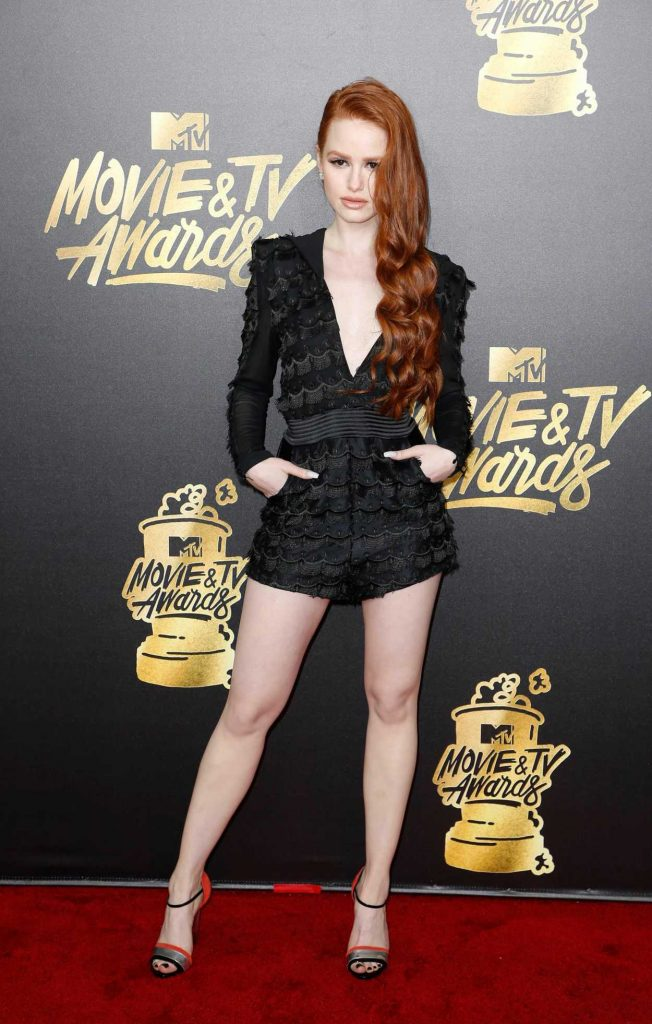 Madelaine Petsch at 2017 MTV Movie and TV Awards in Los Angeles 05/07/2017-1