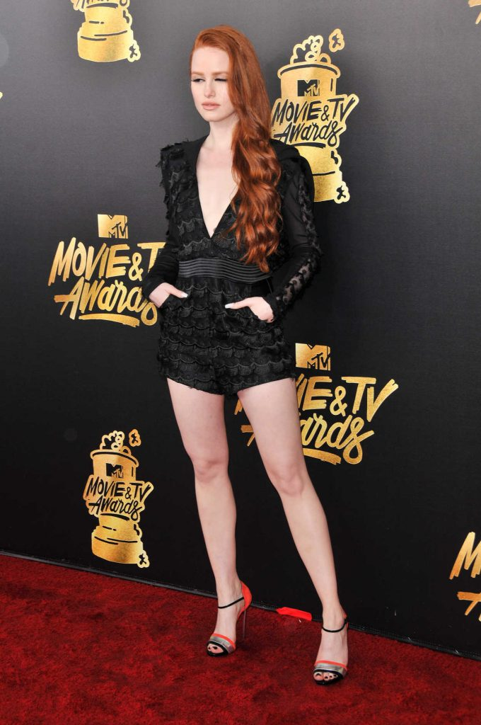 Madelaine Petsch at 2017 MTV Movie and TV Awards in Los Angeles 05/07/2017-2