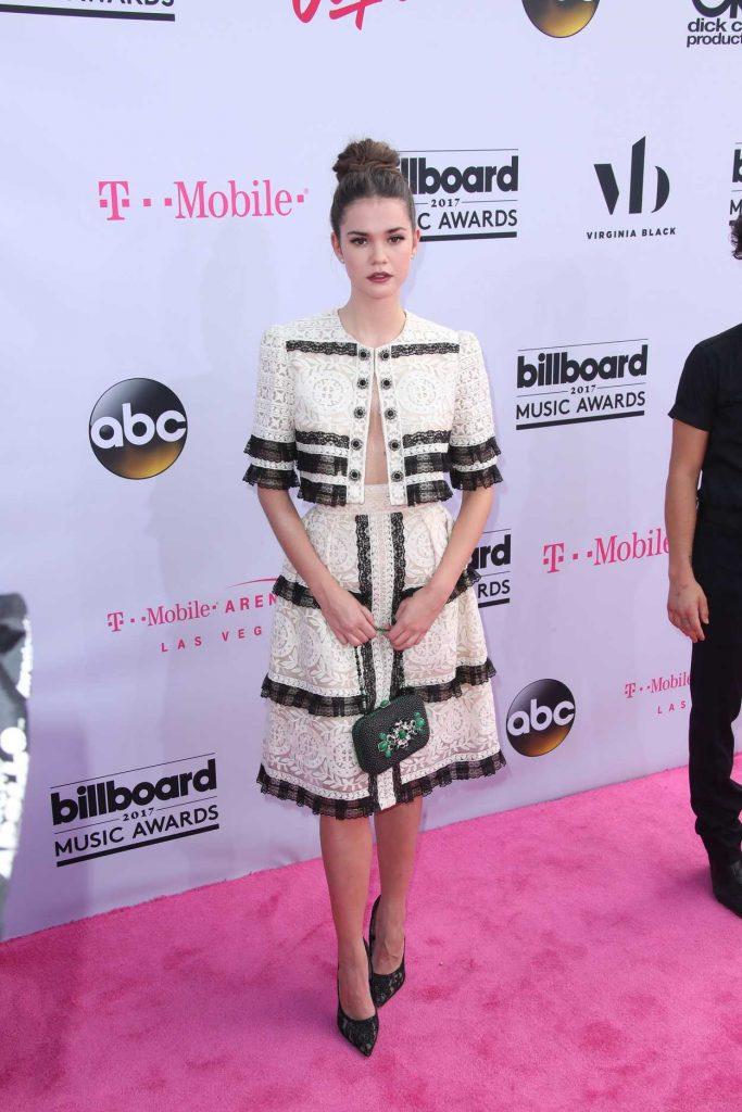 Maia Mitchell at the 2017 Billboard Music Awards in Las Vegas 05/21/2017-1