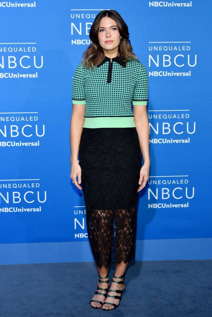 Mandy Moore at the NBCUniversal Upfront in New York City 05/15/2017-1