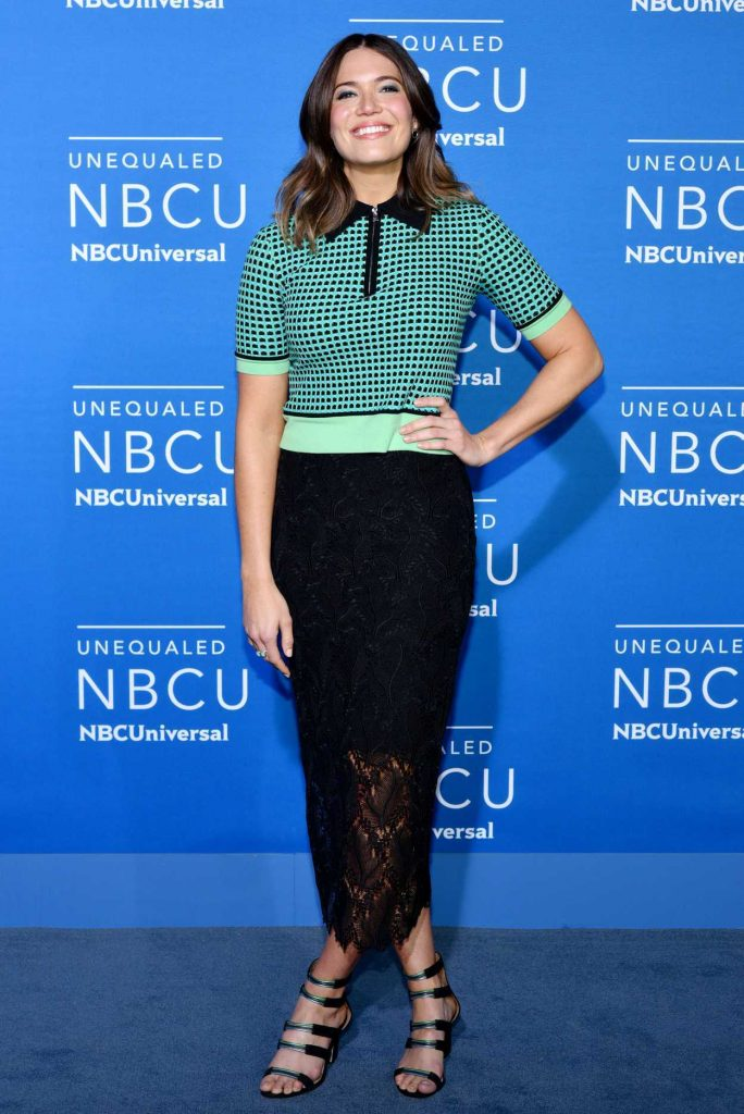 Mandy Moore at the NBCUniversal Upfront in New York City 05/15/2017-2