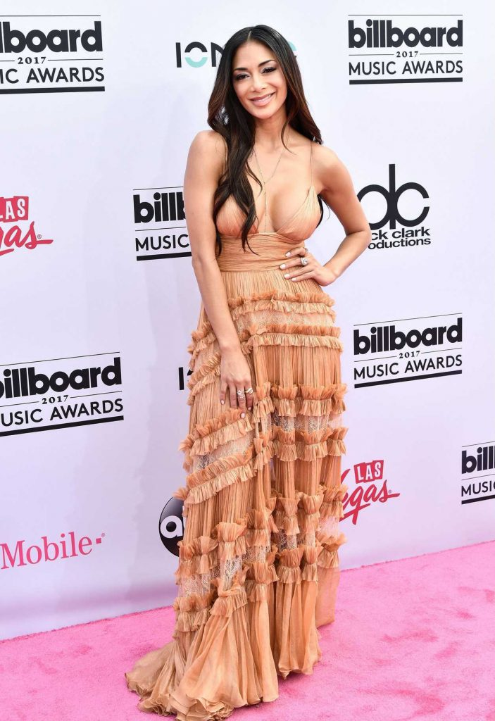 Nicole Scherzinger at the 2017 Billboard Music Awards in Las Vegas 05/21/2017-1