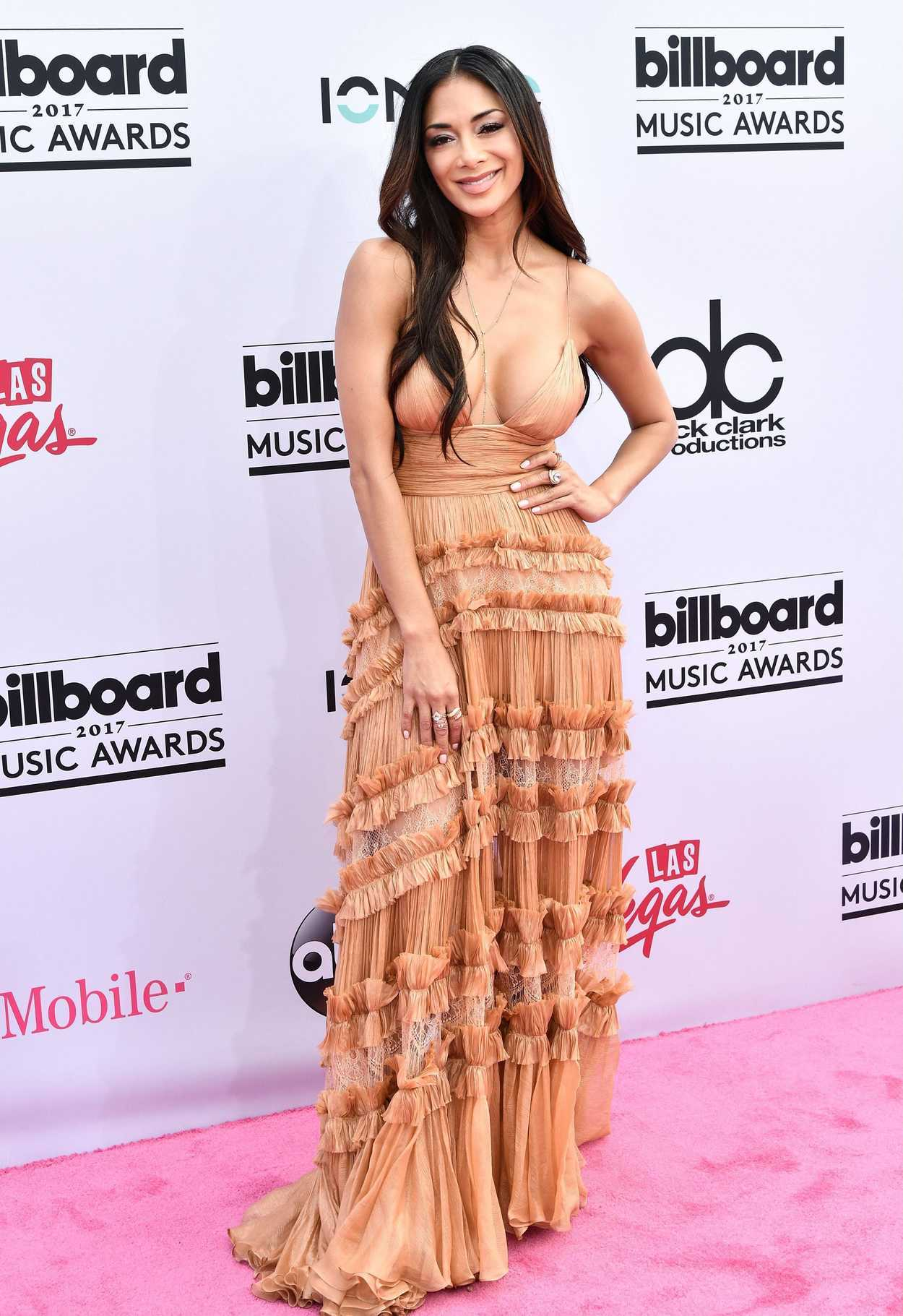 Billboard Music Awards 2016 The Best Hair And Makeup: Nicole Scherzinger At The 2017 Billboard Music Awards In
