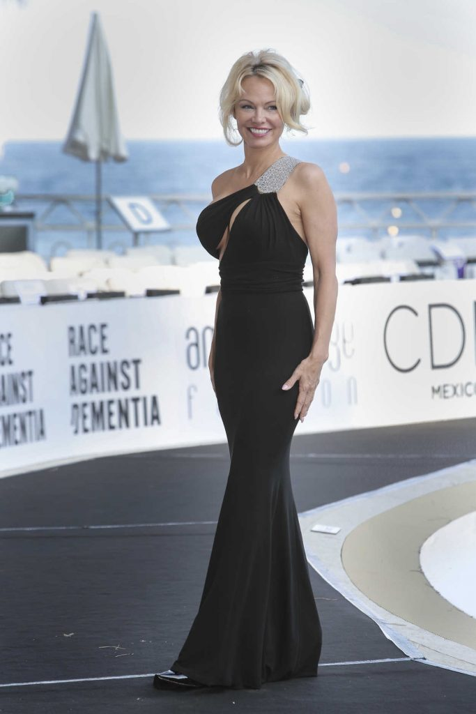 Pamela Anderson at Amber Lounge Fashion Monaco 2017 at Le Meridien Beach Plaza in Cannes 05/26/2017-4