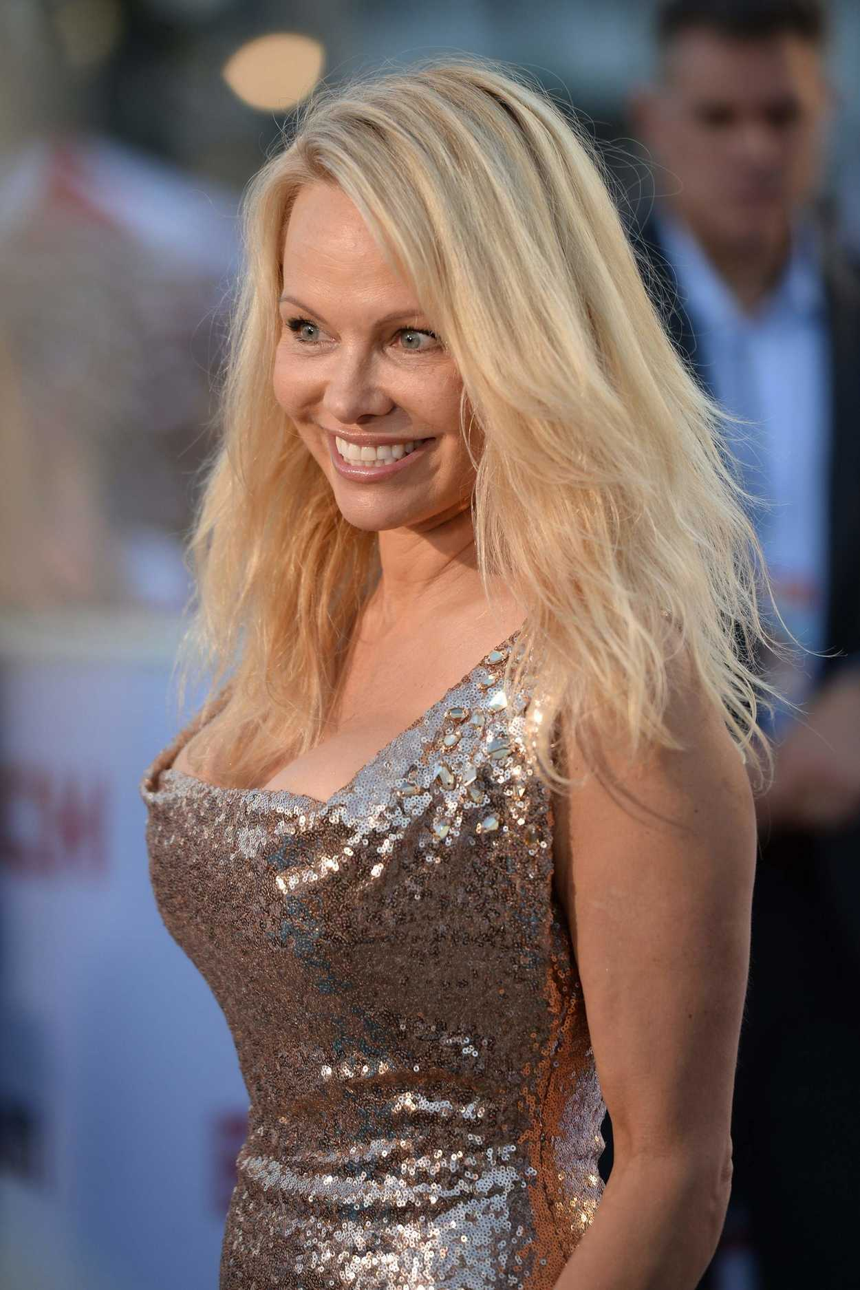 Pamela Anderson Attends the Baywatch Premiere in Miami 05 ...