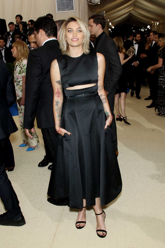 Paris Jackson at the 2017 Met Gala at The Metropolitan Museum of Art in New York 05/01/2017-1