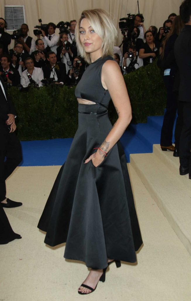 Paris Jackson at the 2017 Met Gala at The Metropolitan Museum of Art in New York 05/01/2017-2