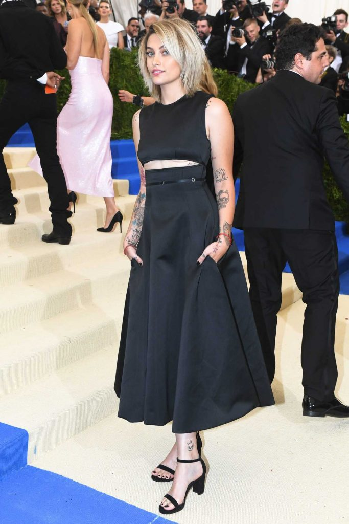 Paris Jackson at the 2017 Met Gala at The Metropolitan Museum of Art in New York 05/01/2017-3