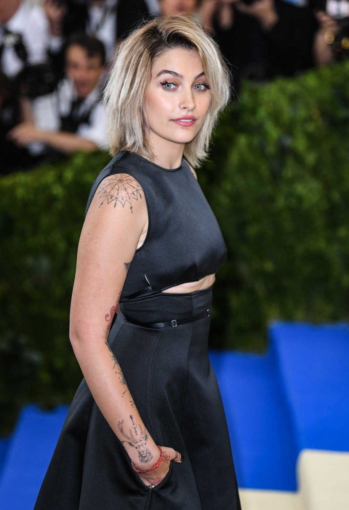 Paris Jackson at the 2017 Met Gala at The Metropolitan Museum of Art in New York 05/01/2017-4