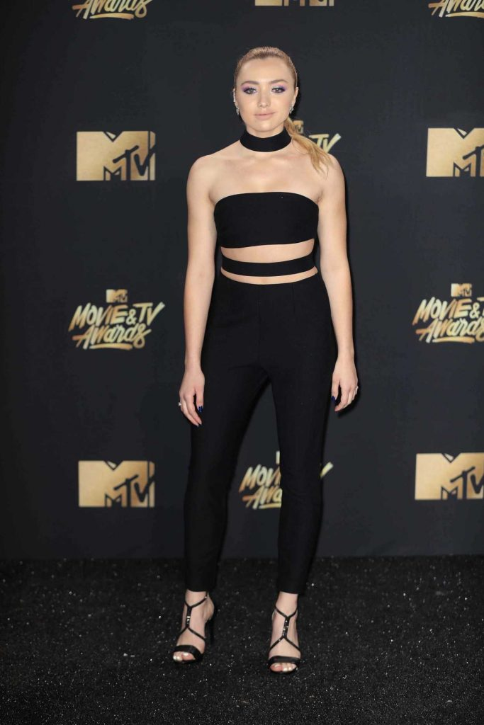 Peyton List at 2017 MTV Movie and TV Awards in Los Angeles 05/07/2017-1