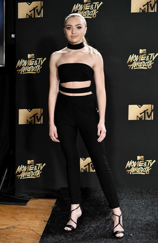 Peyton List at 2017 MTV Movie and TV Awards in Los Angeles 05/07/2017-2