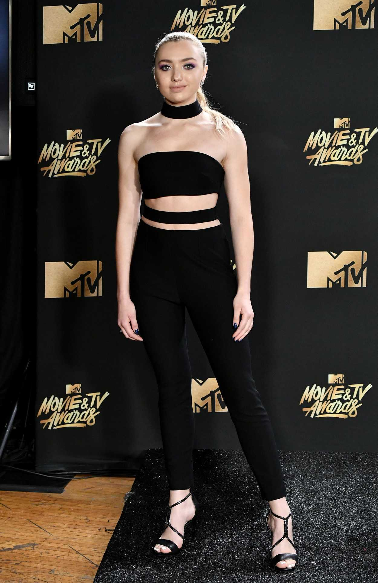 Peyton List at 2017 MTV Movie and TV Awards in Los Angeles ...