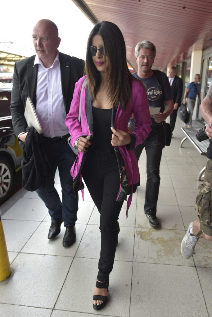 Priyanka Chopra Arrives at Berlin Airport 05/29/2017-1