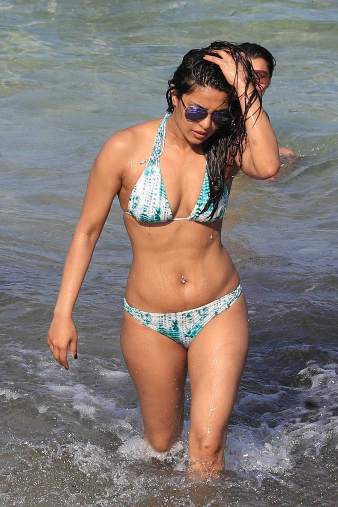 Priyanka Chopra in Bikini at the Beach in Miami 05/15/2017-2
