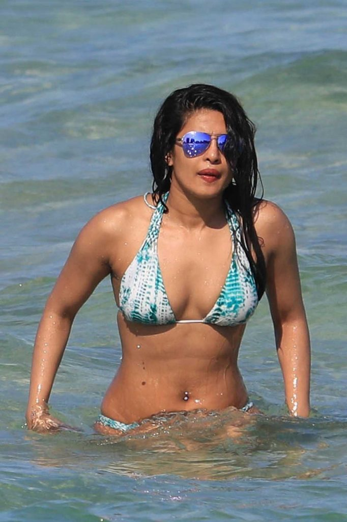 Priyanka Chopra in Bikini at the Beach in Miami 05/15/2017-3