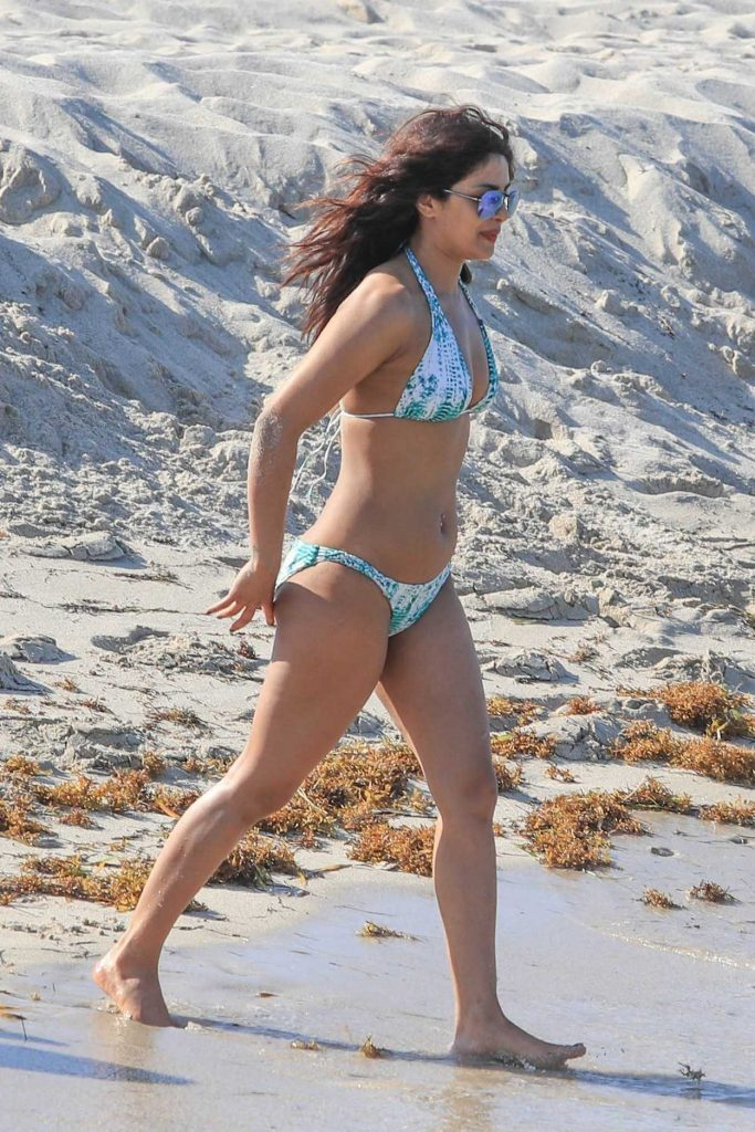 Priyanka Chopra in Bikini at the Beach in Miami 05/15/2017-4