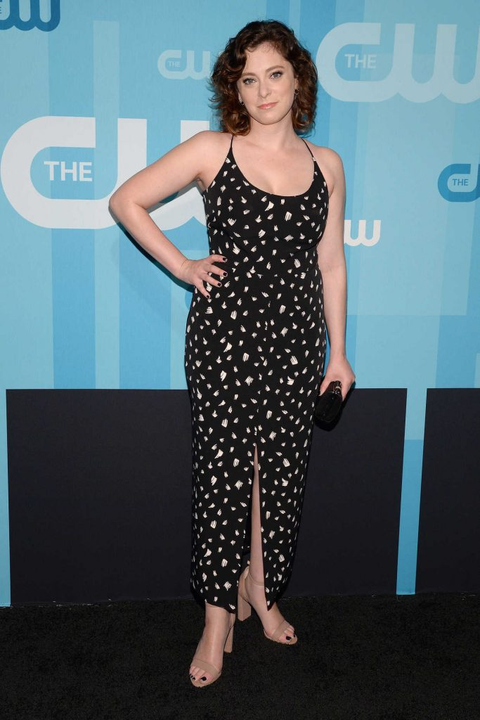 Rachel Bloom at the CW Network's 2017 Upfront at the London Hotel in New York City 05/18/2017-1