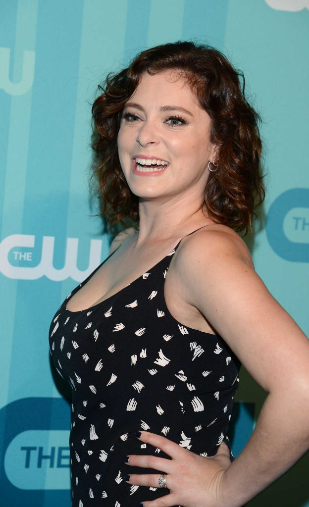 Rachel Bloom at the CW Network's 2017 Upfront at the London Hotel in New York City 05/18/2017-4
