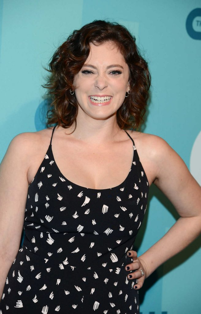 Rachel Bloom at the CW Network's 2017 Upfront at the London Hotel in New York City 05/18/2017-5
