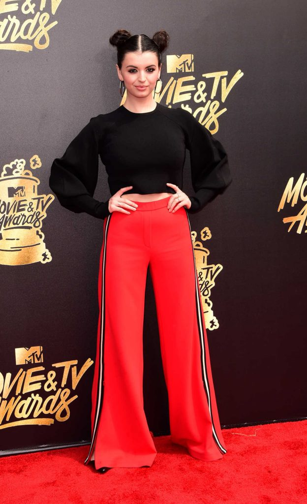 Rebecca Black at 2017 MTV Movie and TV Awards in Los Angeles 05/07/2017-1