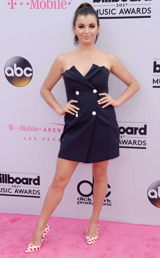 Rebecca Black at the 2017 Billboard Music Awards in Las Vegas 05/21/2017-1