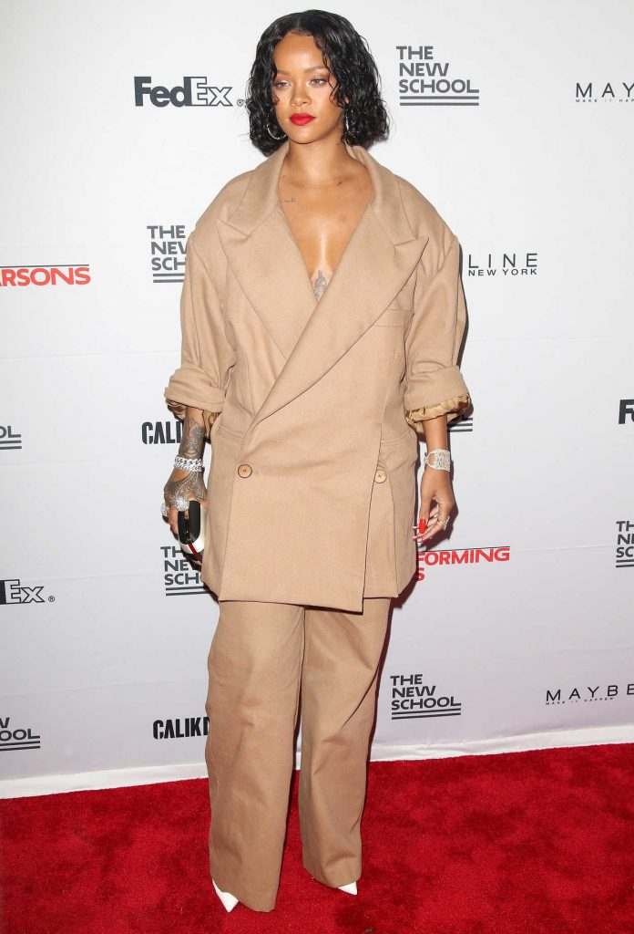 Rihanna at the 69th Annual Parsons Benefit in New York City 05/22/2017-1