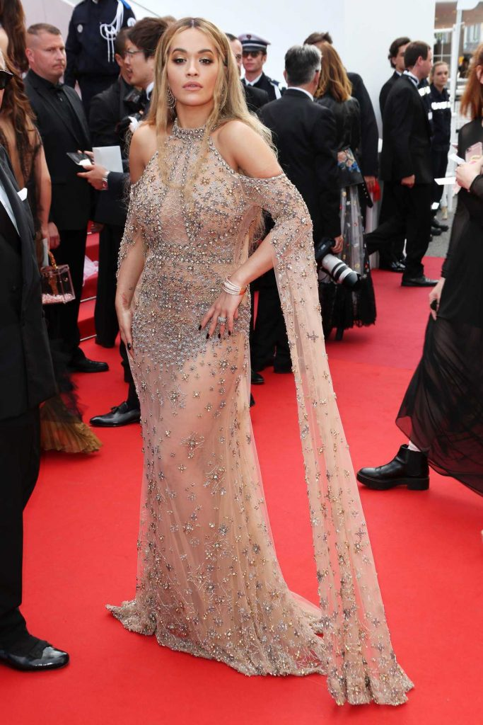 Rita Ora at Anniversary Soiree During the 70th Cannes Film Festival 05/23/2017-1