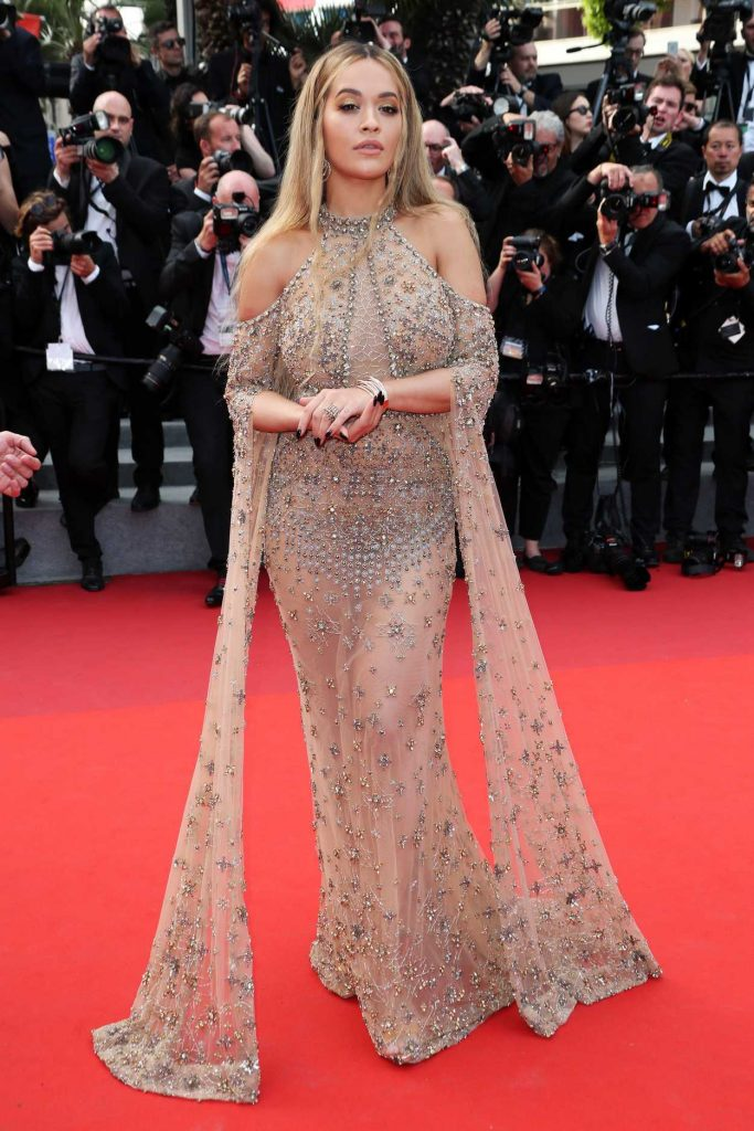 Rita Ora at Anniversary Soiree During the 70th Cannes Film Festival 05/23/2017-3