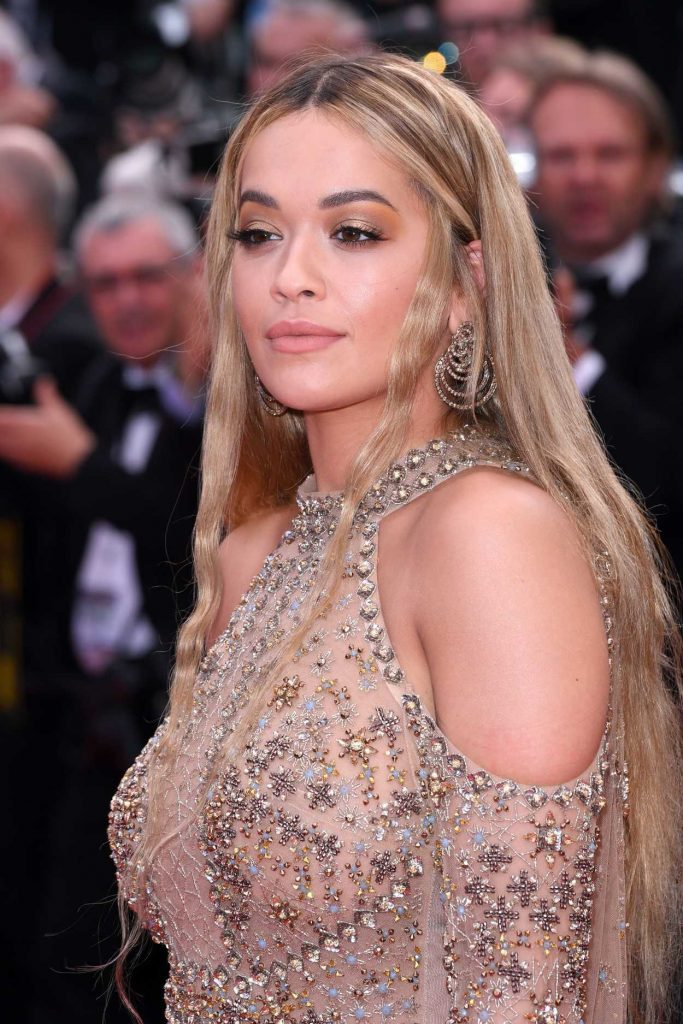 Rita Ora at Anniversary Soiree During the 70th Cannes Film Festival 05/23/2017-5