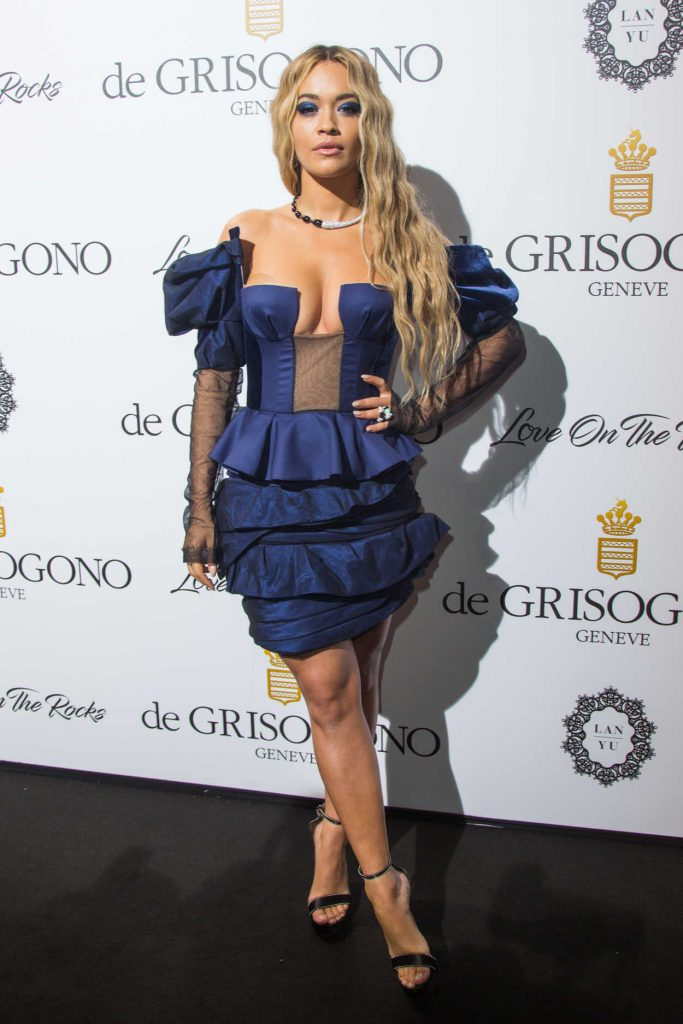 Rita Ora at De Grisogono Party During the 70th Cannes Film Festival 05/23/2017-3