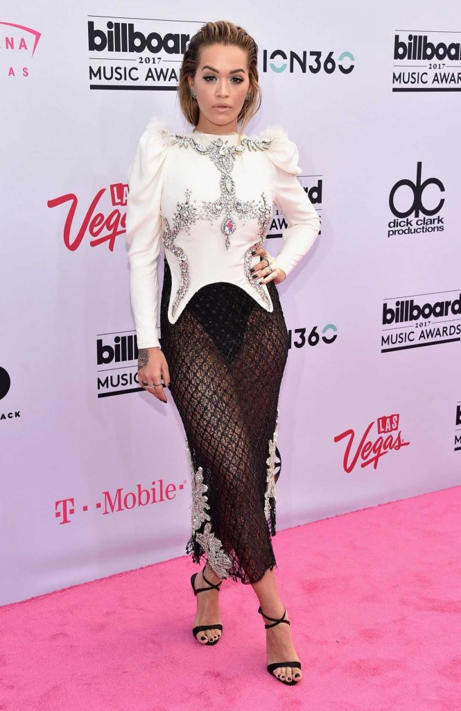 Rita Ora at the 2017 Billboard Music Awards in Las Vegas 05/21/2017-1