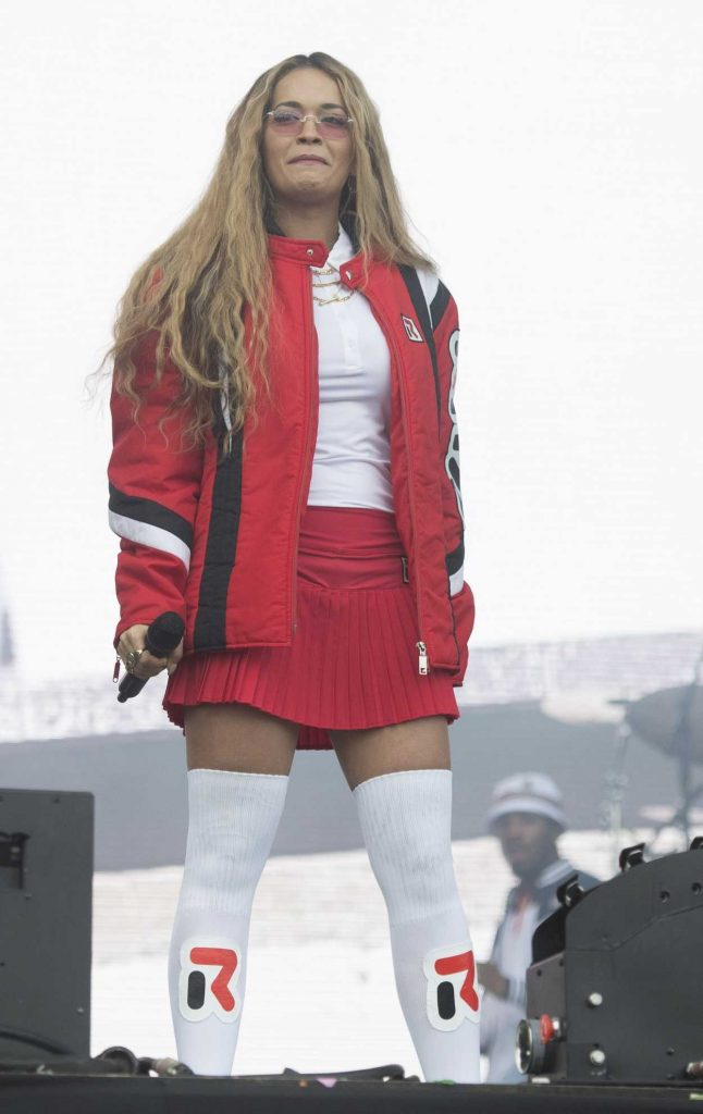 Rita Ora Attends Day 2 of 2017 BBC Radio 1's Big Weekend at Burton Constable Hall in Hull 05/28/2017-5