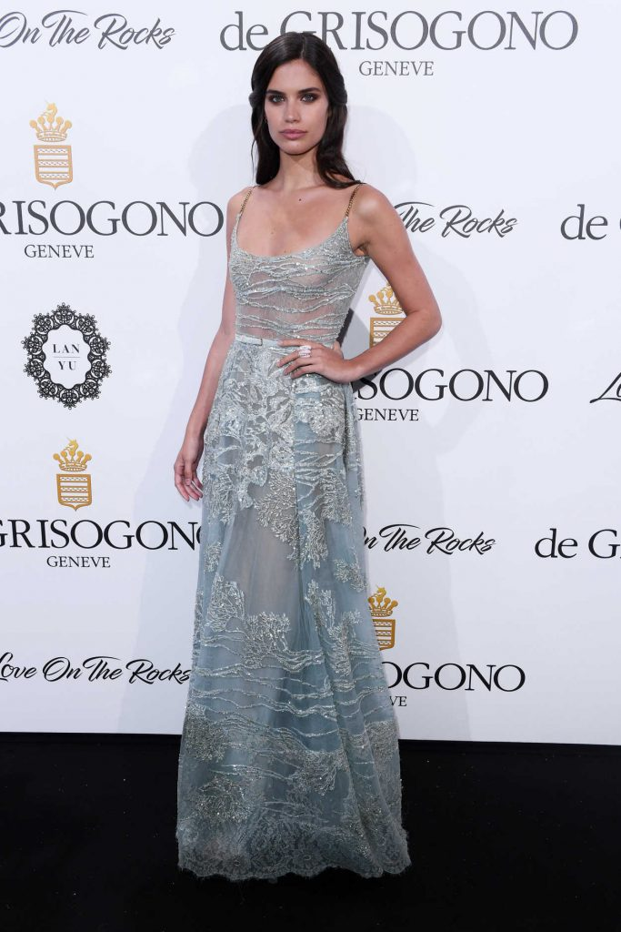 Sara Sampaio at De Grisogono Party During the 70th Cannes Film Festival 05/23/2017-2