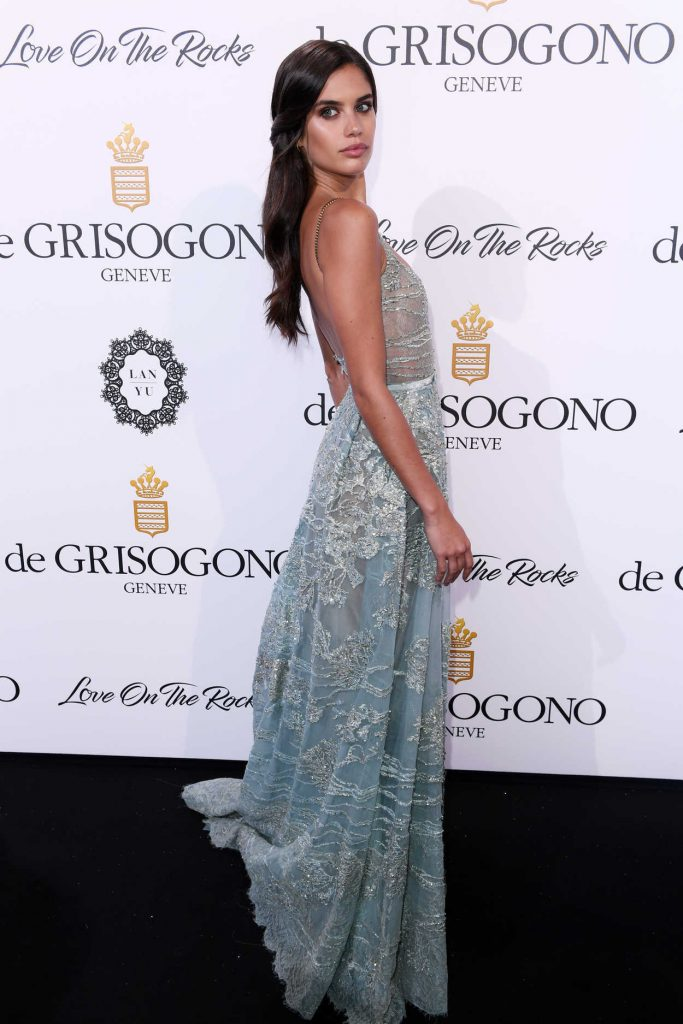 Sara Sampaio at De Grisogono Party During the 70th Cannes Film Festival 05/23/2017-3