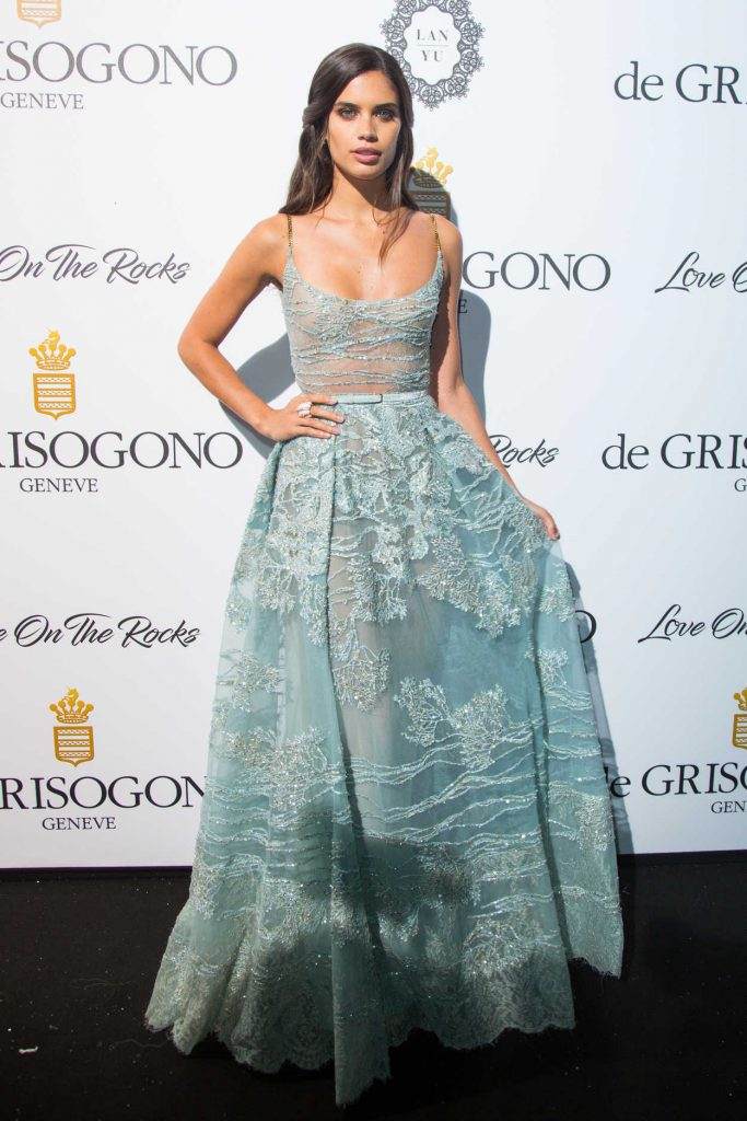 Sara Sampaio at De Grisogono Party During the 70th Cannes Film Festival 05/23/2017-4