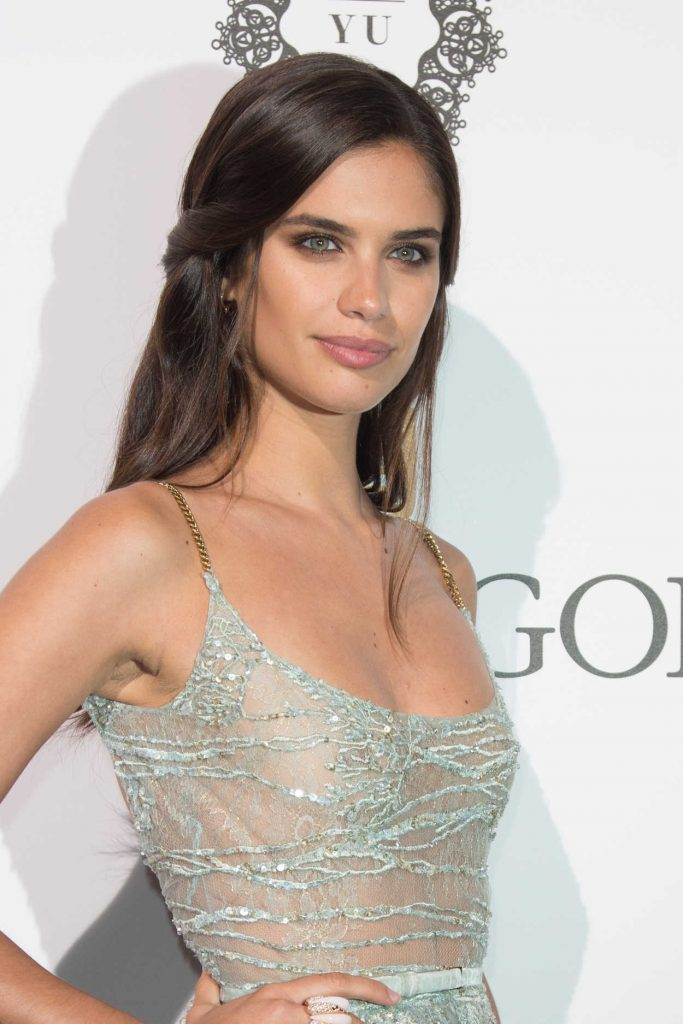 Sara Sampaio at De Grisogono Party During the 70th Cannes Film Festival 05/23/2017-5