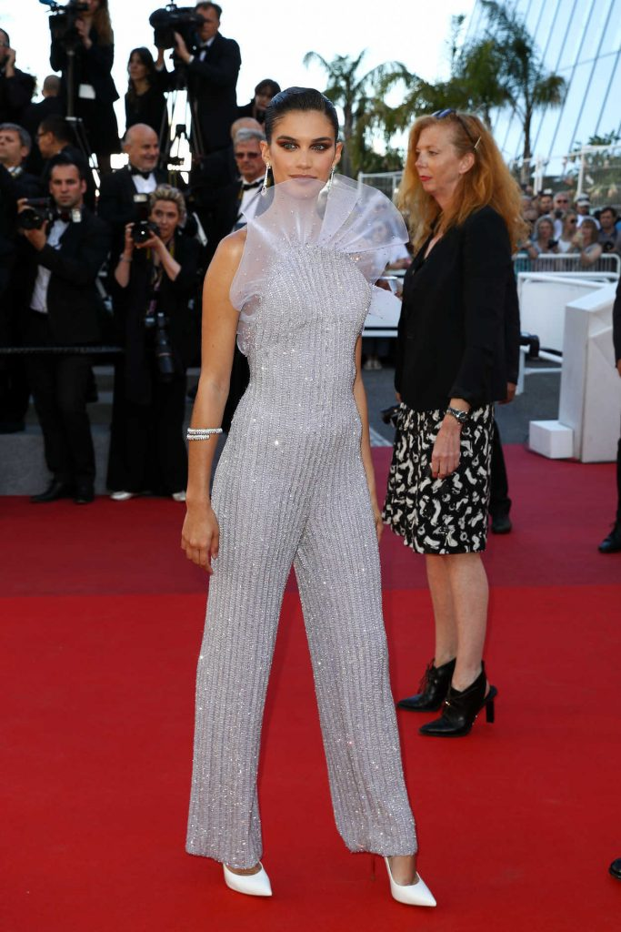 Sara Sampaio at the 120 Beats Per Minute Premiere During the 70th Annual Cannes Film Festival 05/20/2017-1