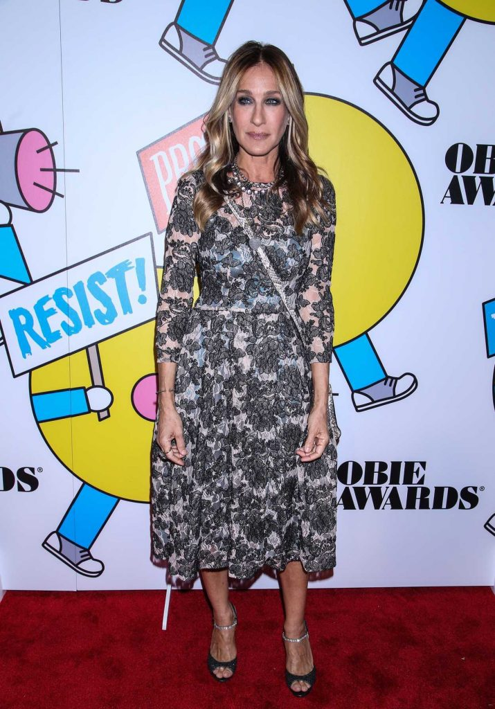 Sarah Jessica Parker at the 62nd Annual OBIE Awards in New York 05/22/2017-1