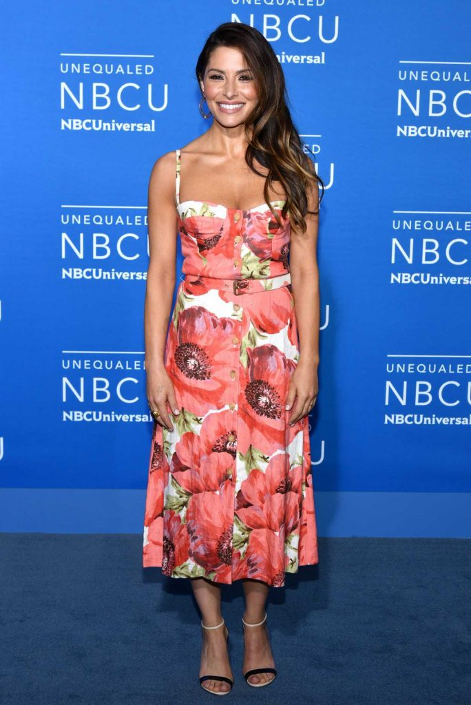 Sarah Shahi at the NBCUniversal Upfront in New York City 05/15/2017-1