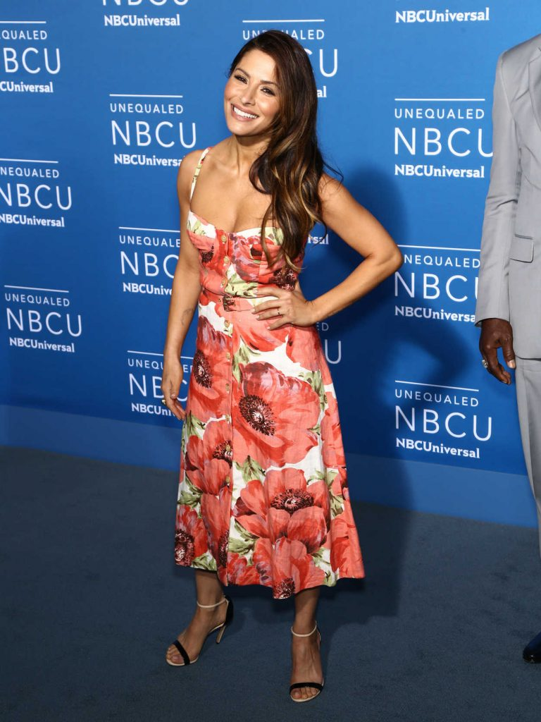 Sarah Shahi at the NBCUniversal Upfront in New York City 05/15/2017-3