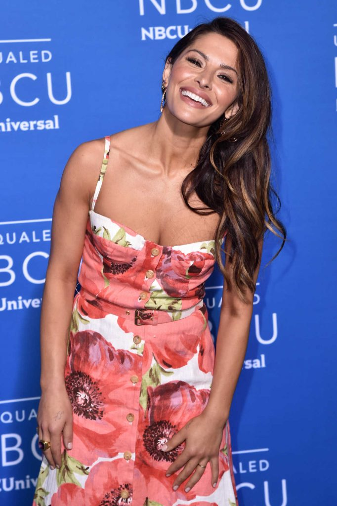 Sarah Shahi at the NBCUniversal Upfront in New York City 05/15/2017-5