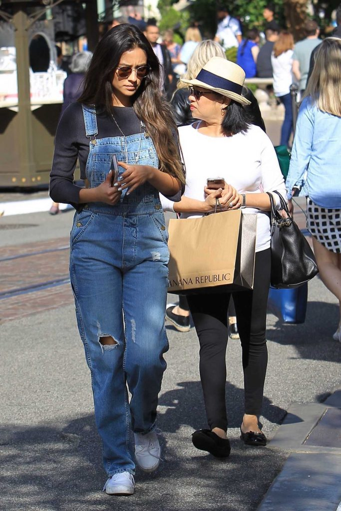Shay Mitchell Goes Shopping at the Grove in Hollywood 05/15/2017-3