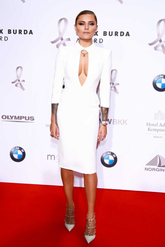 Sophia Thomalla at the Felix Burda Awards in Berlin 05/14/2017-2