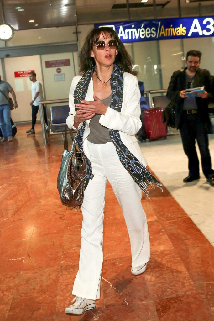 Sophie Marceau Was Seen at Nice Airport in France 05/24/2017-1