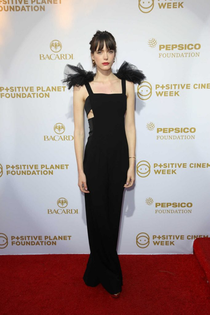 Stacy Martin at the Positive Planet Foundation Party During -1
