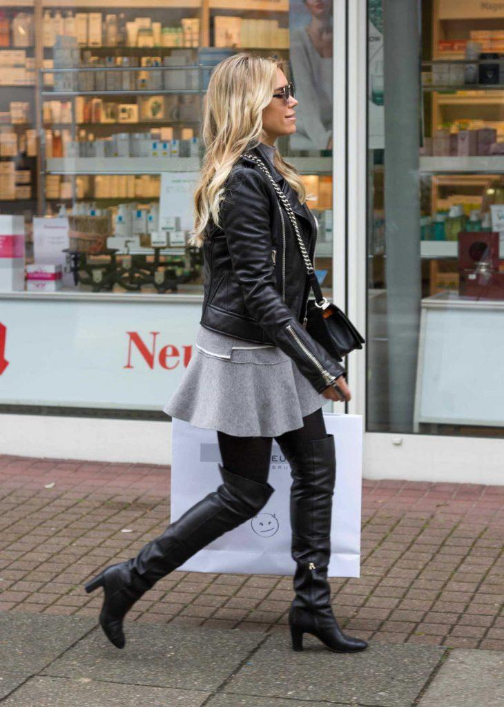 Sylvie Meis Goes Shopping in Hamburg 05/05/2017-3