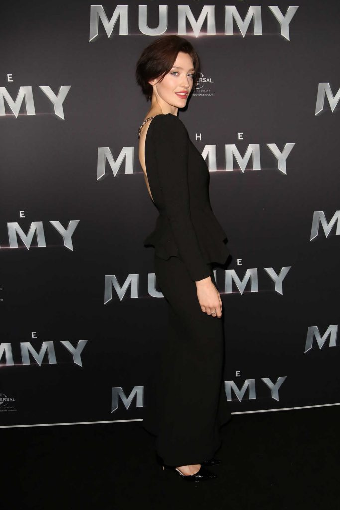 Tess Haubrich at The Mummy Premiere in Sydney 05/22/2017-4