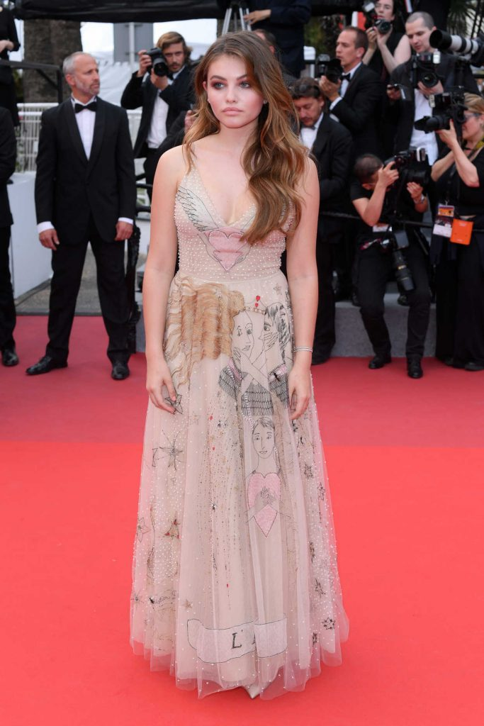 Thylane Blondeau at the Loveless Premiere During the 70th Cannes Film Festival 05/18/2017-1