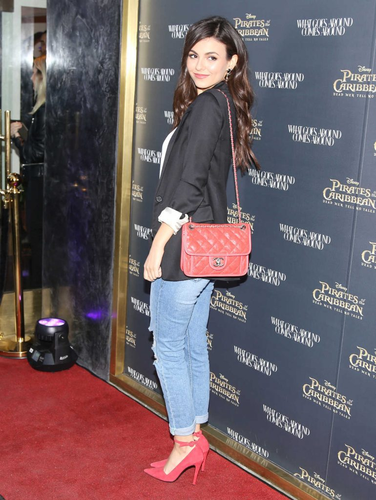 Victoria Justice at the Pirates of the Caribbean: Dead Men Tell no Tales Premiere in Hollywood 05/18/2017-4