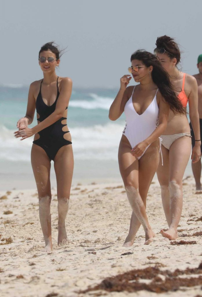 Victoria Justice Hits the Beach in Cancun, Mexico 05/29/2017-2